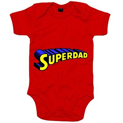 Body bebé Superdad logo