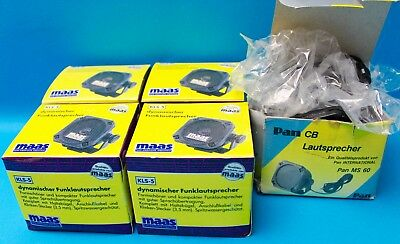 5x Externe Funk Lautsprecher Maas 4x KLS -5 / 1x Pam MS 60 NEU NEW TOP speaker
