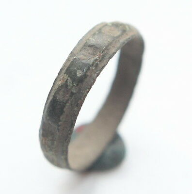 Medieval Ornament Bronze Finger Ring (MAR05)