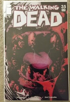 Walking Dead #35 1st Print Robert Kirkman Adlard NM or Better