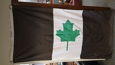 """Vintage Maritime Shipping Flag Carryore House Flag Great Lakes - About 90"""" x 42"""""""