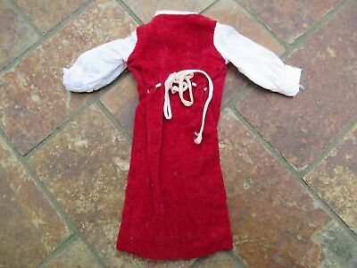 """Vintage 1963 American Character Doll """"Tressy""""; Clothing Dress"""