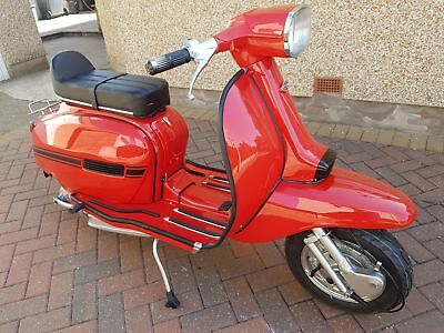 Lambretta Gp 150 Indian Fully Restored