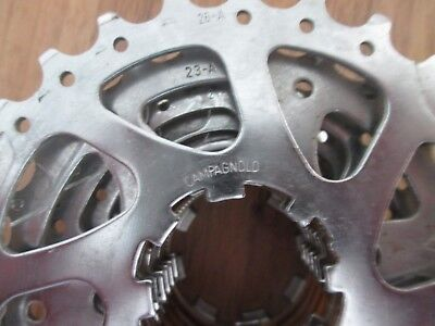 CAMPAGNOLO SUPER 7 SPEED LIGHTWEIGHT ALLOY FREEWHEEL CASSETTE made in Italy