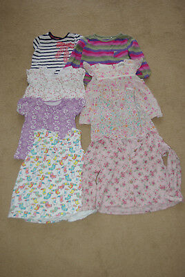 Job Lot Bundle Of 8 Girls Summer Top And Dresses Next Mothercare Age 2-3