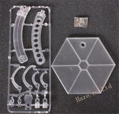 """Square Enix Play Arts Kai Plastic Clear stand for 12"""" Figure"""