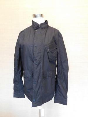 $349 Barbour International for JCrew Collab Ouston Jacket S Black mens C1170