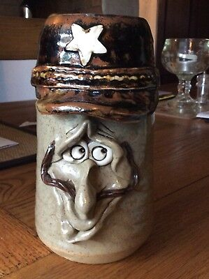 Rare Large Ugly Mug Storage Jar Pretty Ugly Pottery