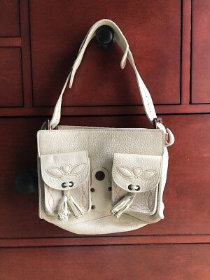 MULBERRY OFF-WHITE LEATHER Emmy Shoulder Bag -  79.99  309b32f7310d9