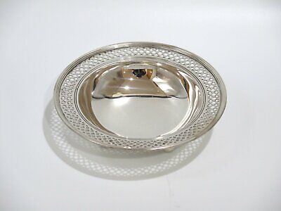 6 in - Sterling Silver Tiffany & Co. Antique Round Footed Serving Bowl