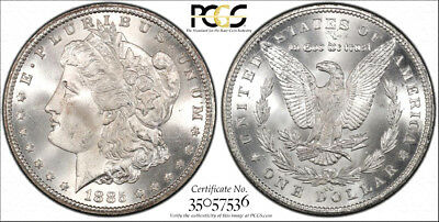 1885-CC * PCGS MS66 SECURE * Silver MORGAN Dollar $1 $1,900++ FROSTY BLAST WHITE