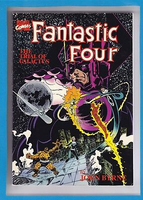 FANTASTIC FOUR 'TRIAL OF GALACTUS' TRADE PAPERBACK_1989_VERY FINE_1st PRINT!