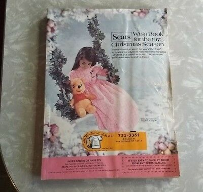1973 Sears Christmas Wish Book Toys Games Clothes Jewelry G Complete