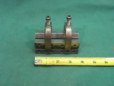 """Machinist V Block  3 5/8""""x 1 3/8""""x 1 3/8"""" With Two Clamps"""