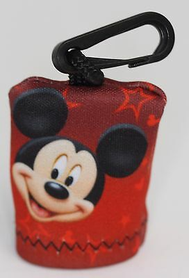 Walt Disney World – Mickey Mouse - Microfiber Lens Cleaning Cloth w/ Clip Pouch