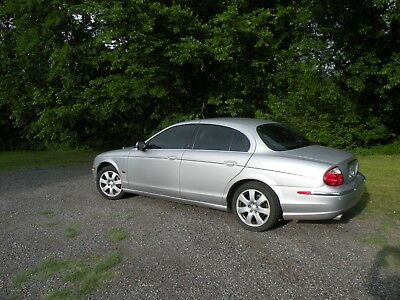 2003 Jaguar S-Type sedan restored and rebuilt complete to like new.