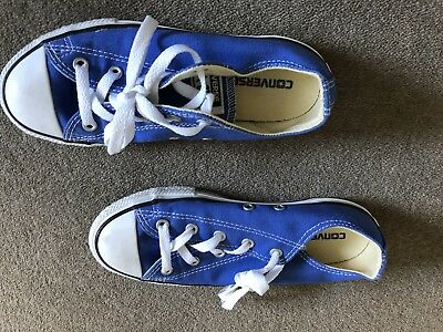 Converse All Star Blue Size 2