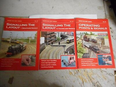 Peco Show You How Books ,operating Points & Signals 1 & 2&3