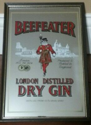 Beefeater Gin Mirror Back Sign