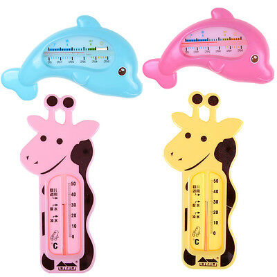 Baby Bath  Thermometer Safety Floating Fish Design Measure Water Temperature