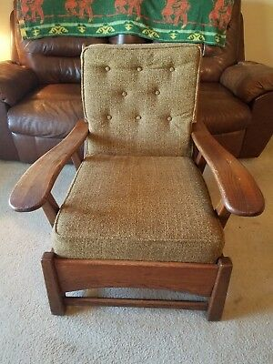 MID CENTURY CHAIR - cushman - morris - rancho monterey or other