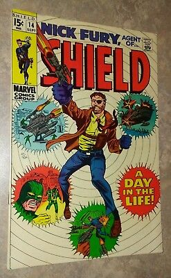 Nick Fury, Agent of Shield #14, Silver Age (Marvel, 1969)