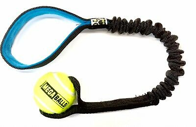 Paws Made Bungee Tennis Ball Dog Tug Stretch Interact Small or Medium Agility
