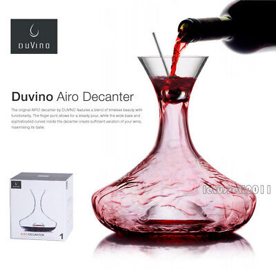 Brand New In Box Duvino Airo Crystal Decanter Top Quality Crystal Ware