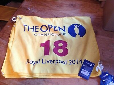Golf Open 2014 - Official Golf Club Towel #18 with NEW Tags & Clasp