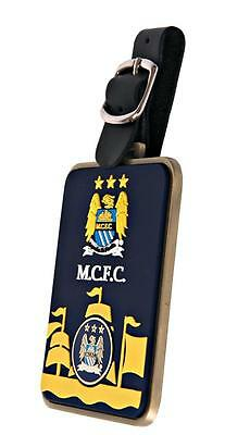 Manchester City Golf Bag Tag With Manchester City Magnetic Ball Marker