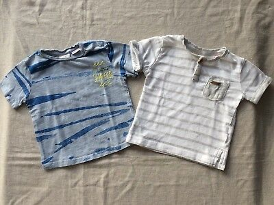 ♥ Zara ♥ Taille 3-6 Mois ♥ Lot 2 Tee-Shirts ♥ Impeccable ♥