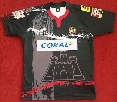 Wigan Warriors Vintage/retro 2015 Away Shirt Size Xl