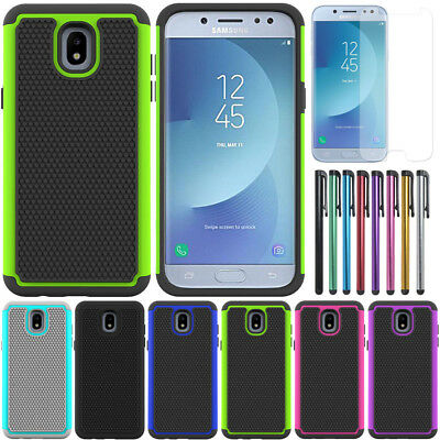 Heavy Duty Shockproof Case Hybrid Armor Cover For Samsung Galaxy J5 Pro 2017