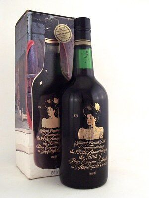 1939-1960 SEPPELT Para Port 100th Blend Flora Eugenie A Original Box Isle Wine