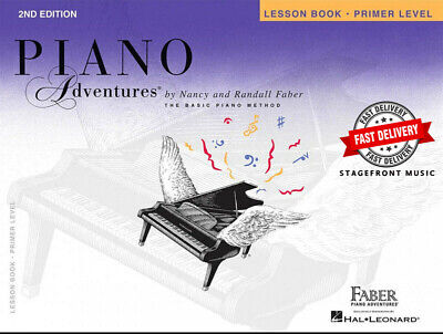 Piano Adventures 2Nd Edition Lesson Book Primer Level - Faber **brand New**