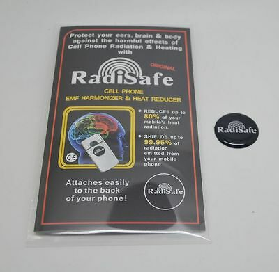 10 x Radisafe Anti Radiation Energy Saver Mobile Phone EMF Protection Stickers