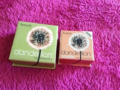 Benefit Set Dandelion Dandelion Twinkle Highlighter Blush Wunderschön Vlogger