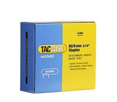 Tacwise 0382 Type 80/8 Series Staples 8mm 10000 Pack