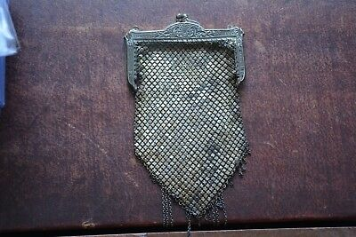 Vintage Mesh Coin Purse Marked Mandalian Mfg Co 6 Inches