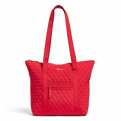 Vera Bradley Factory Exclusive Villager Tote Bag in Fire Red