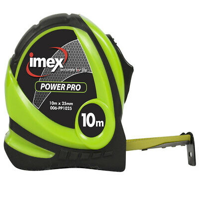 Imex 10m Tape Measure 25mm Double Sided Blade