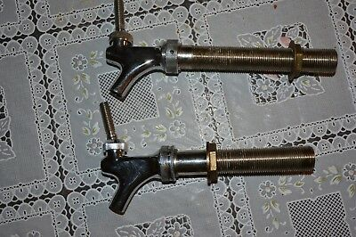 Lot Of 2 Perlick Beer Tap Faucets Nice Shape