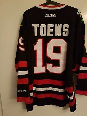 NHL- CCM - Chicago Blackhawks -Trikot - JERSEY - TOEWS - Gr. L- RAR