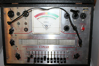 Vintage Conar Model 221 Tube Tester Checker National Radio Institute NRI Rare