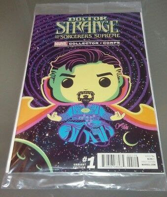 Marvel Collectors Corps Doctor Strange variant cover comic #1 new & sealed