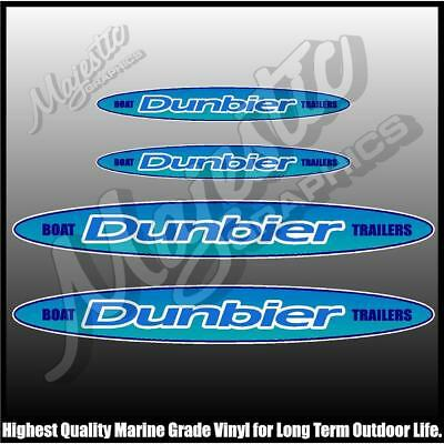 Dunbier Trailers -  Decal 4 Pack - Trailer Decals