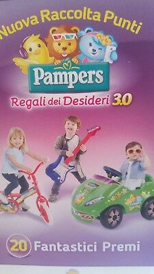 20 codici  pampers baby-dry ( no star )