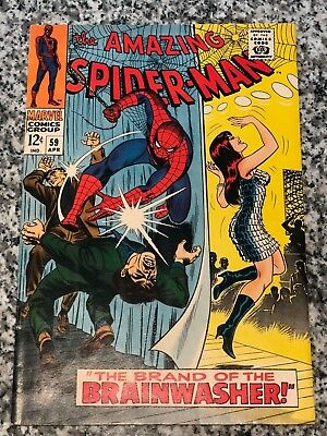 The Amazing Spider-Man #59 1st Mary Jane Watson Cover High Grade