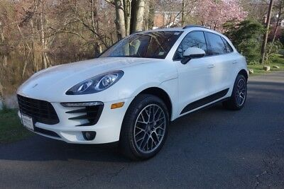 Porsche Macan S 2017 S Used Certified Turbo 3L V6 24V Automatic AWD SUV Premium