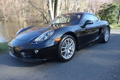 Porsche Cayman Black Edition 2016 Black Edition Used Certified 2.7L H6 24V Automatic RWD Coupe Premium